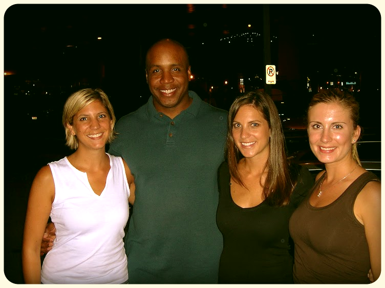 Remember when we met Barry Bonds?