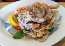 Crabby: Soft-shell crabs from Matt's Fish Camp in Bethany Beach, DE