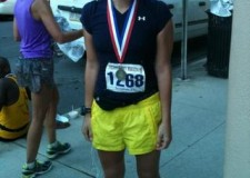 This is my favorite picture of Kelly ever. Look at that marathon smile.