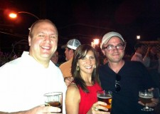 Dave, Jersey Mike and me at the Abbey Bar deck celebrating the 5th anniversary of the #hbgtweetup