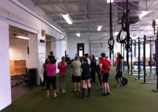 Crossfit 717 offers a 10 a.m. class for their more skilled students.