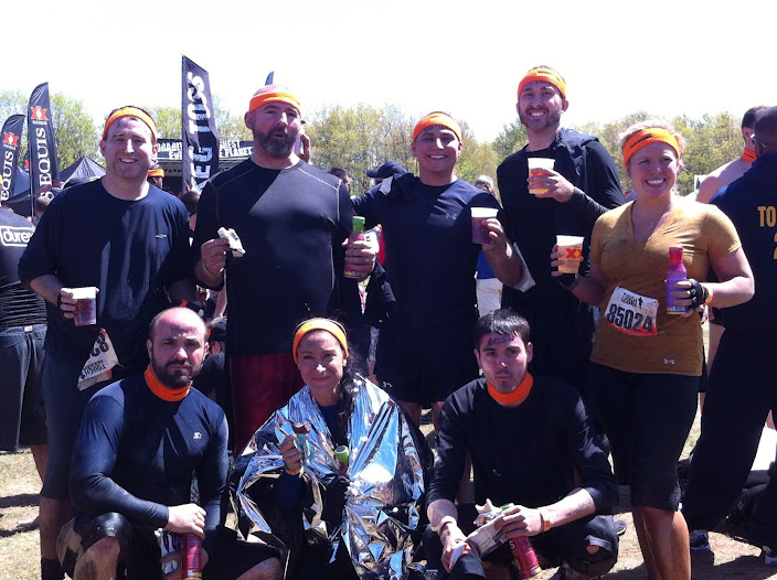 2012 Tough Mudder crew.