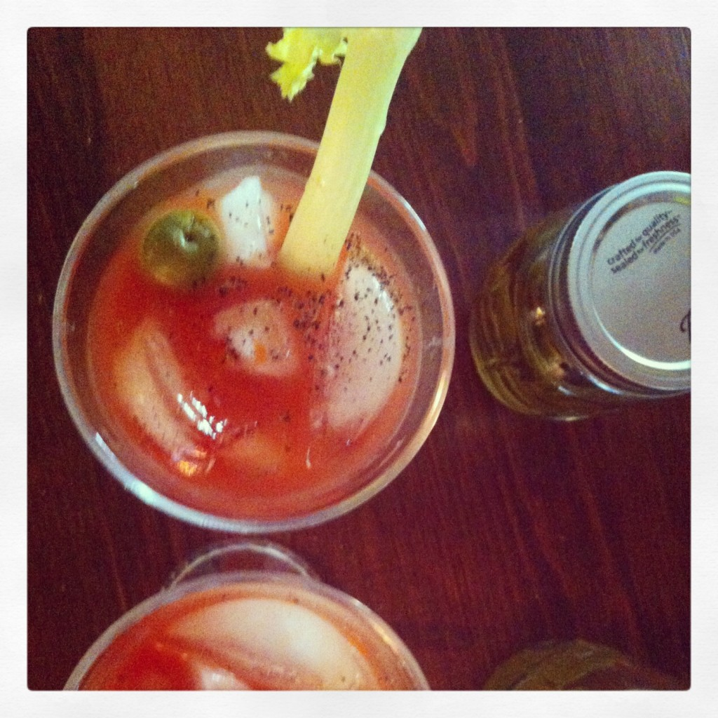 DIY-bloody mary