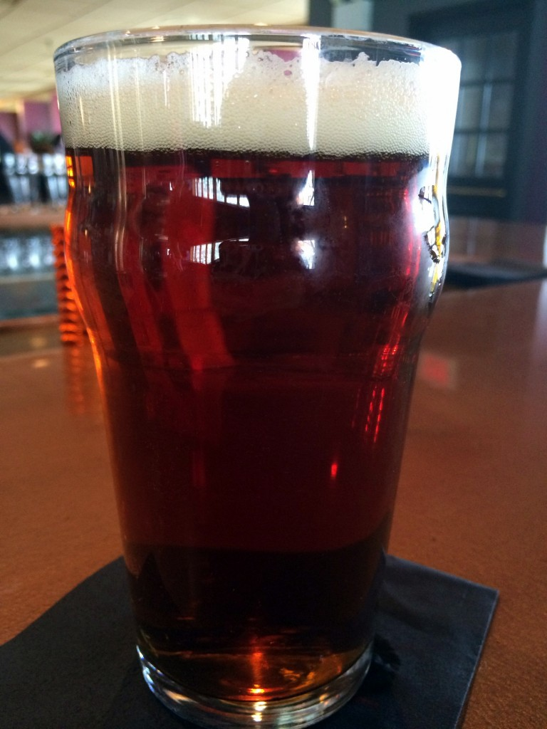LBC's Hop Buggy Amish Four Grain Ale