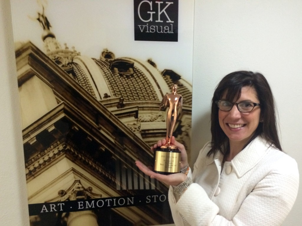 What's on Tap with Sara scored a Bronze Telly Award for video production.