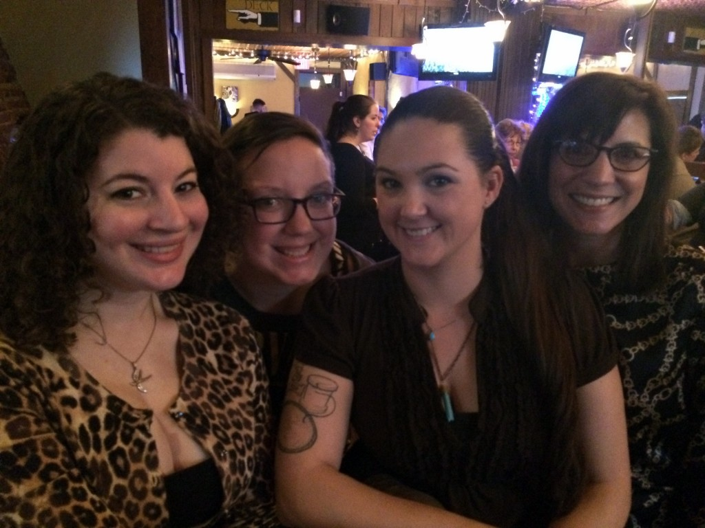 Accidental girls' night at The Speakeasy.