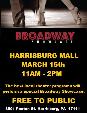 Broadway Showcase Flyer