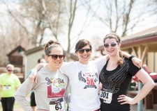 Kelly, Sara & Tierney at last year's race.