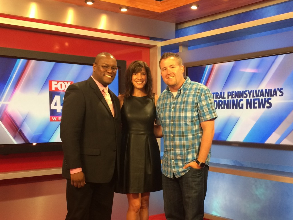 Hot Topics on FOX 43 with Chris Garrett and Mike Miller.