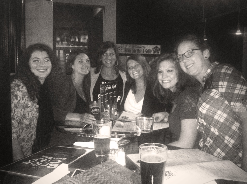 #TBT Girls Night 2013 at Brick City (now Ted's Midtown)