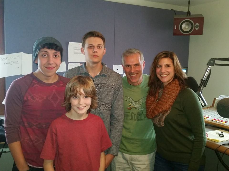 The Billy Cave Trio, an all-student band playing original music, joined us live on the air on Saturday.
