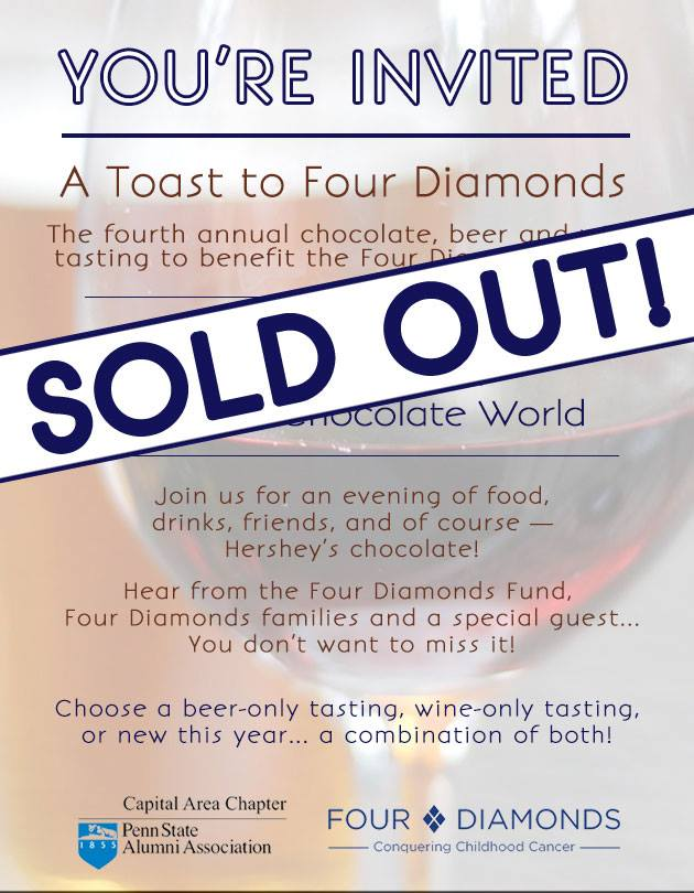 Toast to Four Diamonds_SOLD OUT