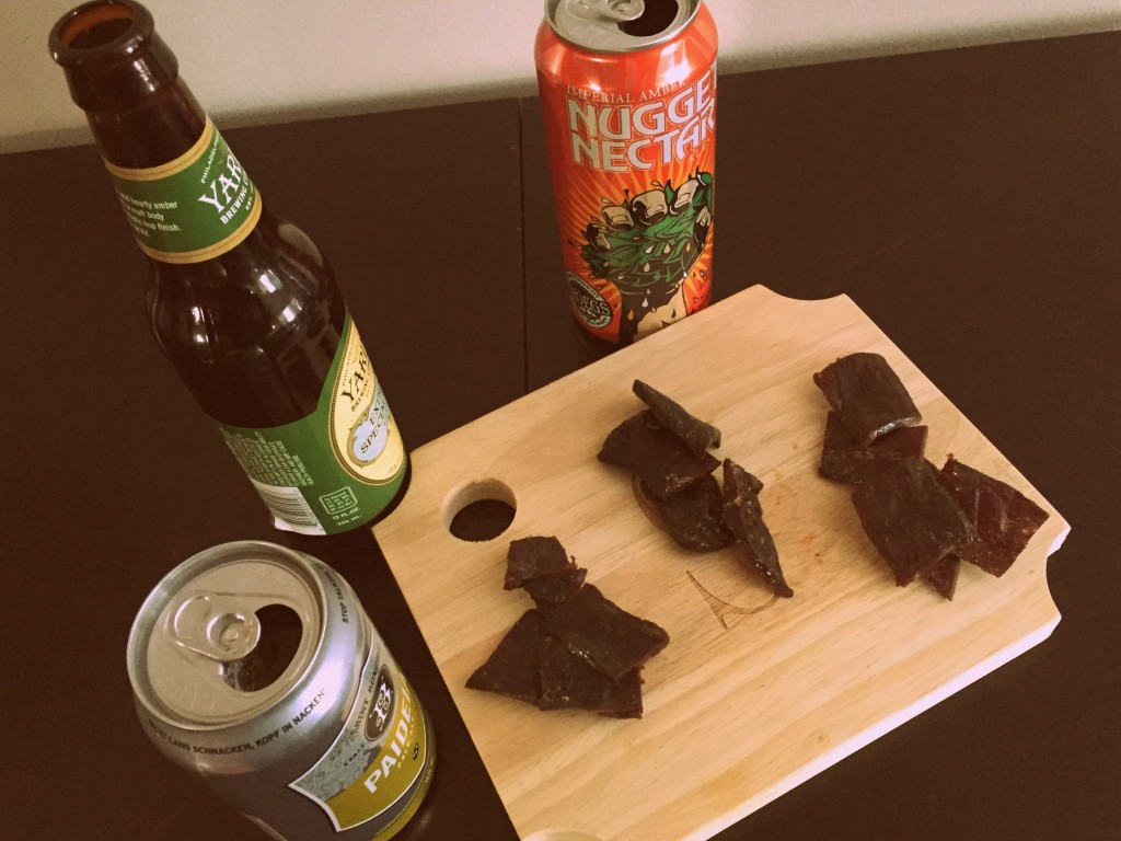 craft beer jerky