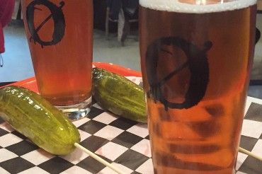 IPAs & Pickles: My happy place. As seen on Instagram.