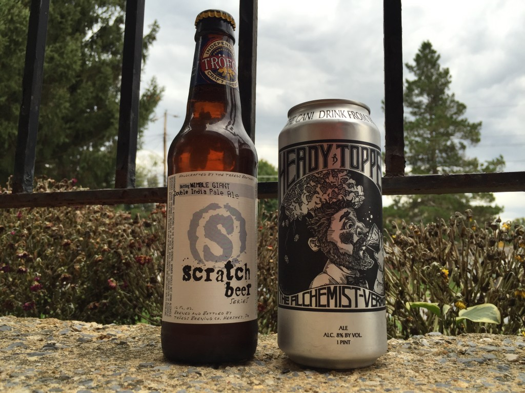 Beer Swap: Heady Topper for Troegs Nimble Giant
