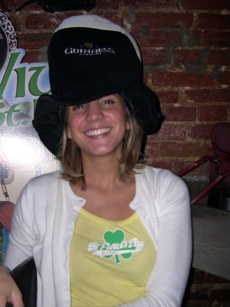St. Patrick's Day 2005. You're welcome.
