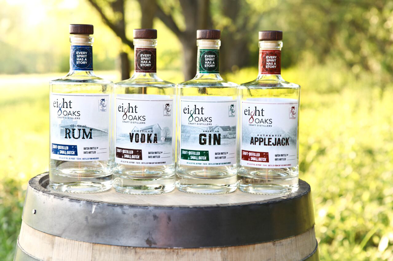 Image provided by Eight Oaks Distillery
