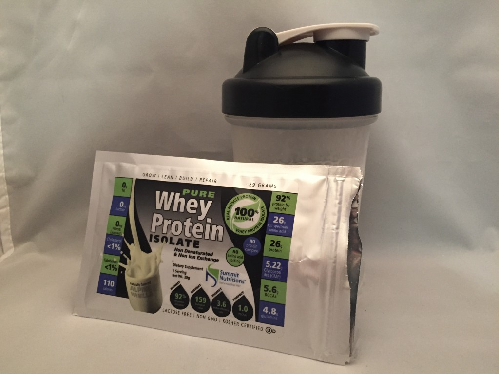 2 % Pure Whey Protein Isolate -3 Single Serve Pk Review-3.