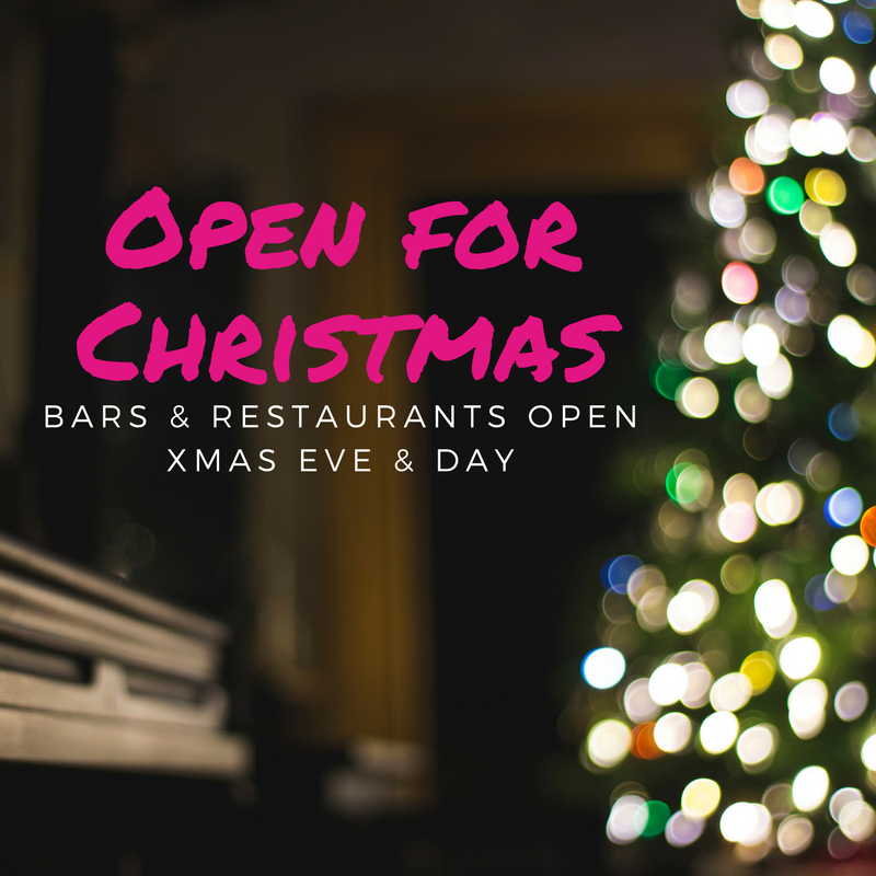 xmas open sq - Are Bars Open On Christmas Eve