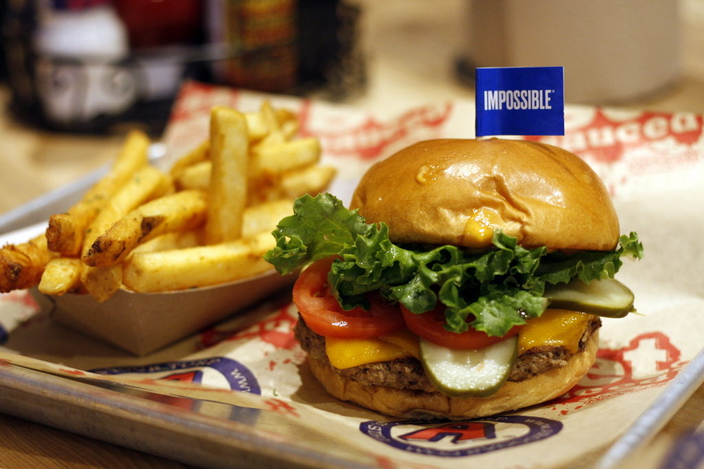 impossible Burger Arooga's