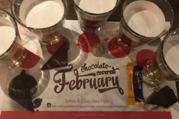 chocolate-covered february hershey