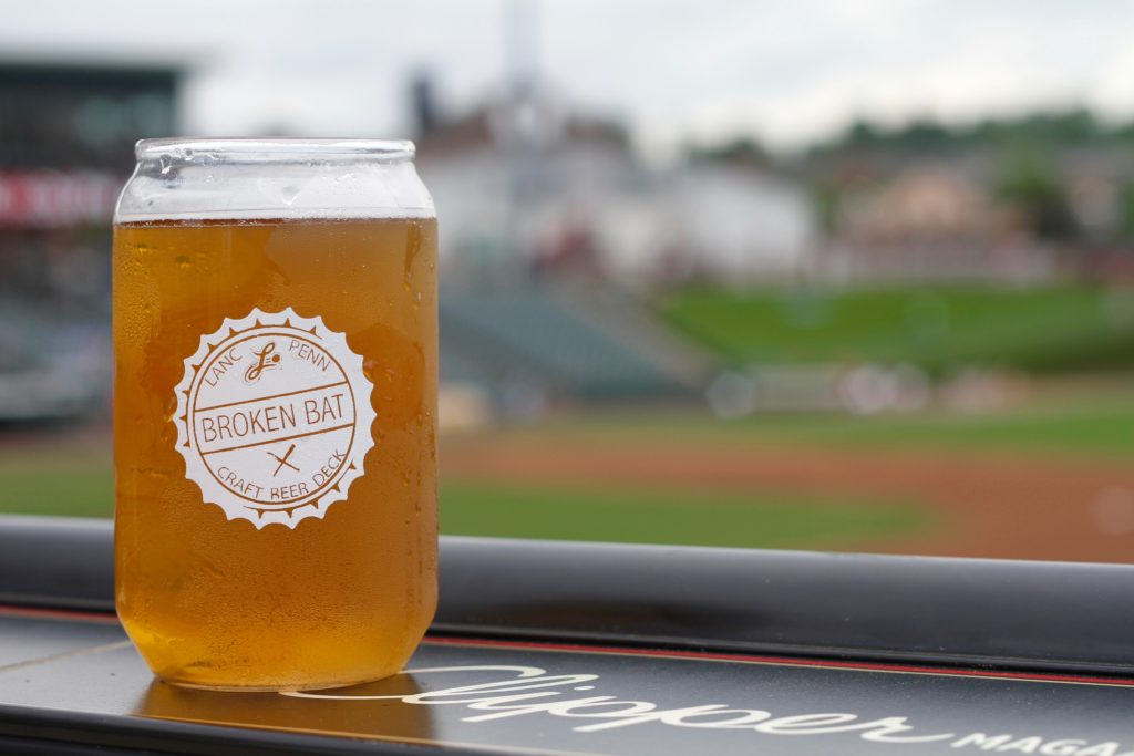Broken Bat Craft Beer Deck Lancaster Barnstormers